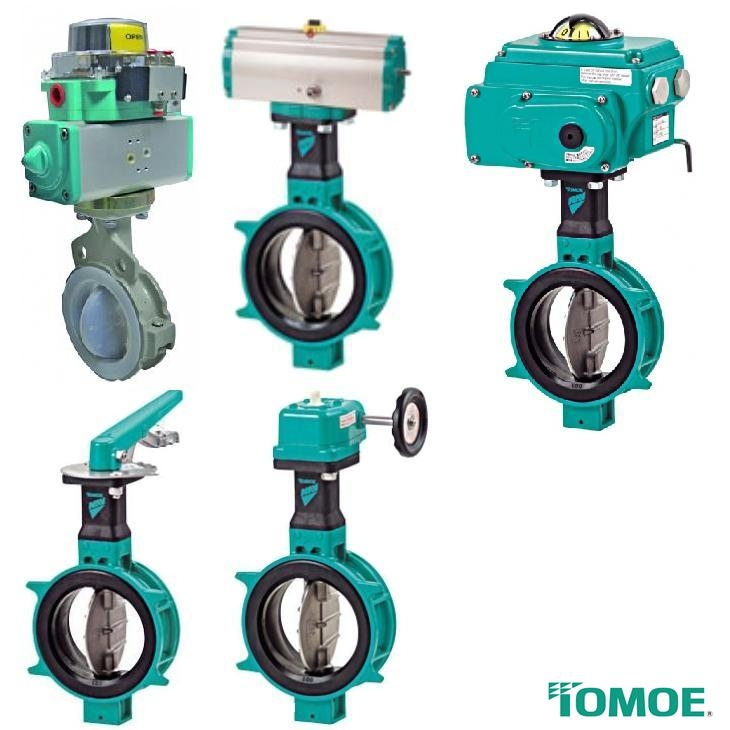 Tomoe Butterfly Valves John Gioxas Amp Co Sa